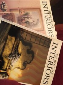The World of Interiors old editions