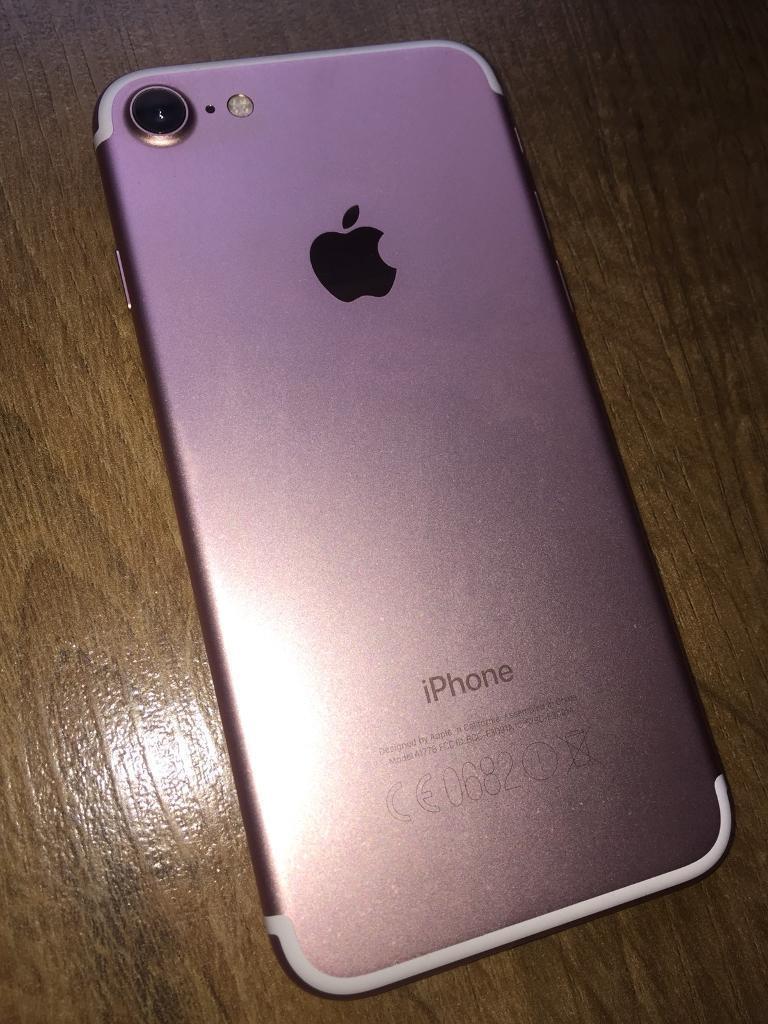 Apple Iphone 7 Rose Pink 12.0 Megapixels IOS Smartphone ...