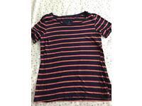 C river island t shirt size 10