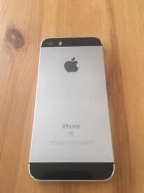 iPhone SE 64gb gray, factory unlocked