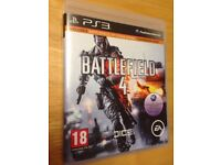PS3 (Play station 3) Game Battlefield 4