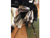 Full set of HIPPO HYBRID clubs