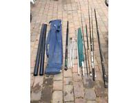 Various fishing equipment