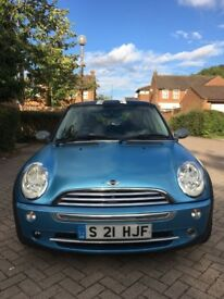 MINI Cooper Hatch 1.6 One 3dr 2004 12 Months MOT