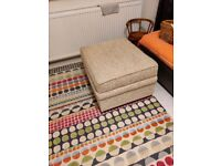 Footstool with storage - FREE!