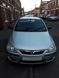 Vauxhall CORSA - in good condition, the second owner