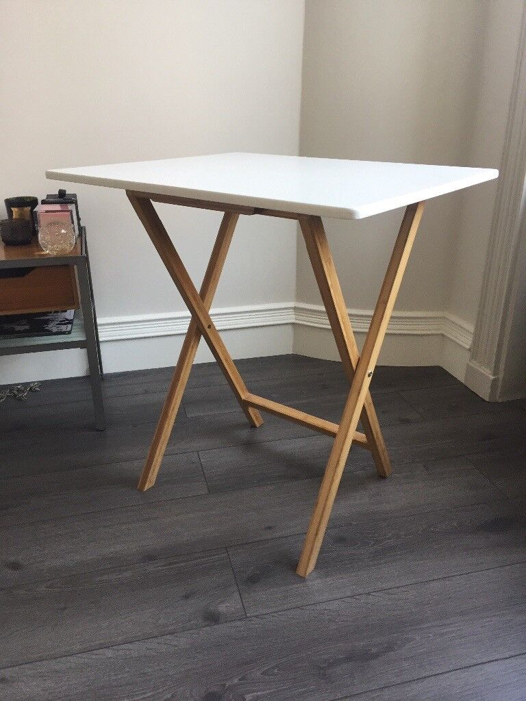 habitat drew 2 seat folding table in hackney london gumtree