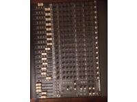 Mackie 16 channel mixer