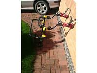 Bike rack for spare wheel 4x4 Halfords