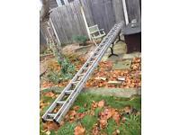 Aluminium ladders 22'