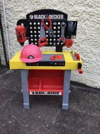 Kids Black & Decker Tool Set - £10