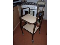 Mobility Trolley - ideal for transporting food & drinks when disabled