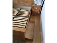 Smart wooden under bed drawers