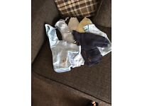 Bundle of boys baby clothes tiny to 0-3 months