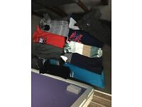 very large byndle boys age 11/13 clothes