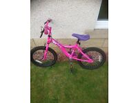 Girls bike age 6-8 years