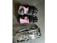 Motorcycle Leather gloves New