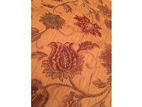 Beautiful Gold Tapestry Full length Curtains