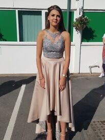 Designer 2 piece party,ball,prom size 8