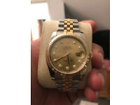 Swiss Men's Rolex Oyster Datejust Perpetual Automatic Watch