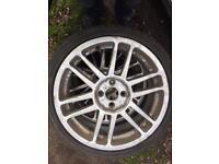 17 inch alloys no tyres