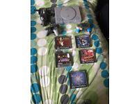 PlayStation1 with 5 games