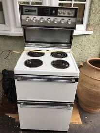 Creda carefree double oven