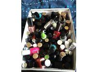 Nail polish collection of 70+