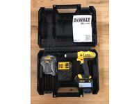 New And Complete Dewalt DCD776 Cordless Drill, Case, Charger and 2 Batteries