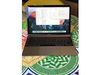 Apple Macbook 12 1.1Ghz Core M3, 8GB LPDDR3 Ram, 256GB SSD, Intel HD515, Force Touch, Early 2016