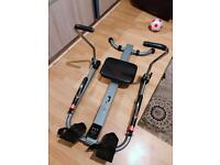 V fit Dual Hydraulic Rowing Machine- like Brand New