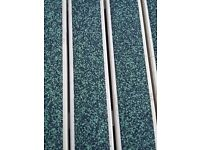 Recycled rubber decking . 10sq m. 20 lengths.