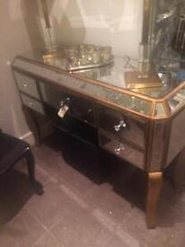 Mirrored dressing table. SOLD. SOLD