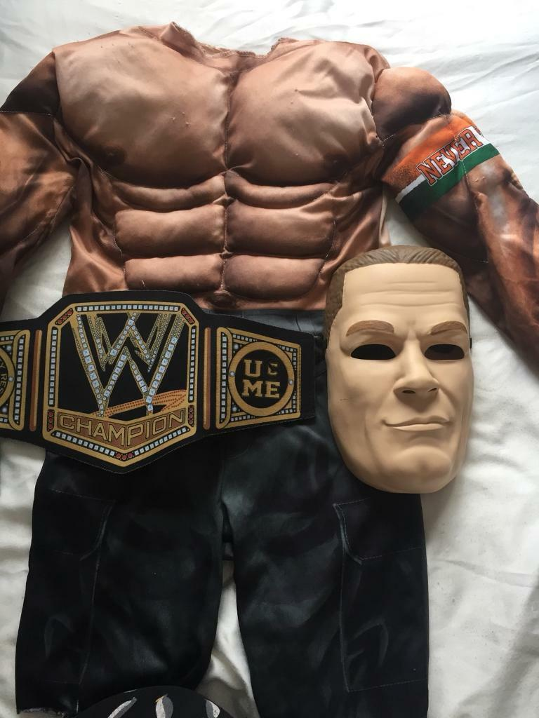 Boys wwe John Cena costume size 4-6 Years | in Hessle, East ...