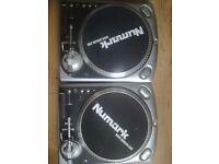Numark TT200 x2 & Numark DM950 Mixer