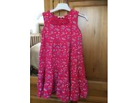 Lovely summer dresses for girl in a very good condition