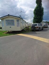 To let from 1s of September 2 bedrooms caravan for 3 months.