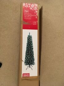 Snow Tipped Pencil Christmas Tree from ARGOS, only used once