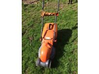 Flymow electric lawnmower. REDUCED