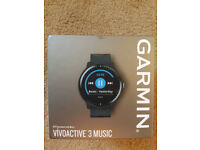 Garmin Vivoactive 3 Music - Smart/Fitness Watch - brand new & sealed in box. Unwanted gift
