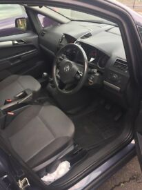 60plate Vauxhall zafira 1.7 eco flex