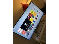 TOSHIBA 58 INCH SMART TV WI FI FREE VIEW HD FREESAT 4X HDMI 2X USB YOU TUBE iPLAYER SUPER SLIM
