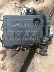 Audi A3 Sline 2.0Tdci Engine 2011 plate