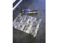 3 Rolls brick effect wallpaper