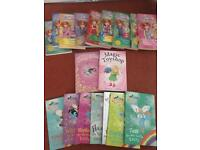 Selection of secret kingdom and rainbow magic books