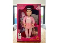 Boxed, brand new Deluxe Our Generation Sydney Lee Doll'