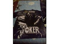 batman - joker t-shirt ( size XL brand new with tags )