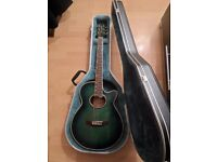 Westfield Electro/accoustic guitar with hardcase