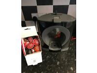 Necafe dolce gusto coffee machine not been used got some coffee with it