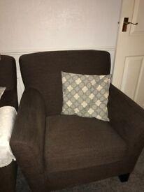 Ikea Ekenas brown chairs
